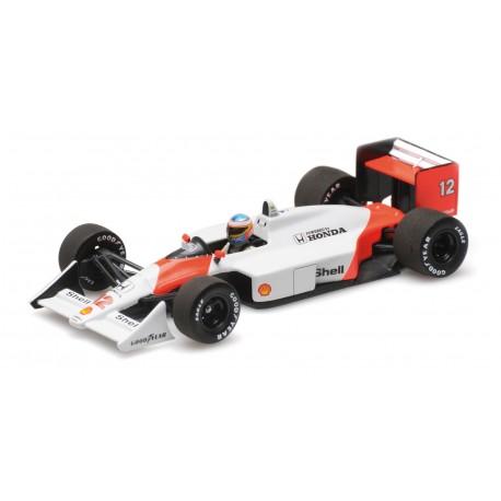McLaren Honda MP4/4 12 F1 Catalunya 2015 Fernando Alonso Minichamps 530884314