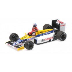 Williams Honda FW11 F1 Allemagne 1986 Keke Rosberg riding on Nelson Piquet Minichamps 410860106