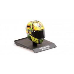 Casque Helmet 1/10 AGV Valentino Rossi Moto GP 2014 Minichamps 315140046