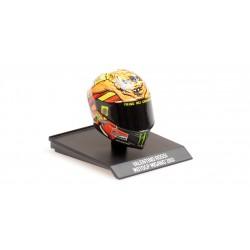Casque Helmet 1/10 AGV Valentino Rossi Moto GP Misano 2012 Minichamps 315120096