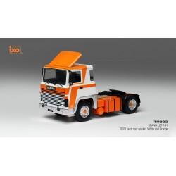 Scania LBT 141 White Orange 1976 IXO TR032