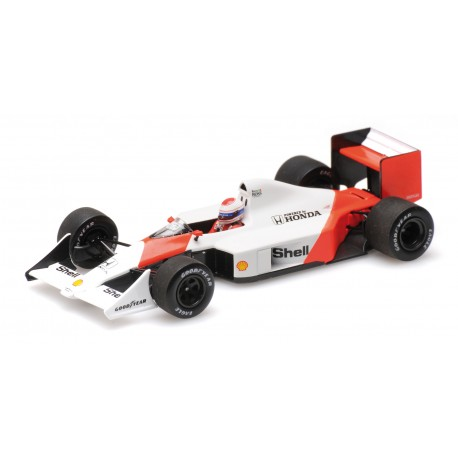 McLaren Honda MP4/4B Test Car F1 1988 Emanuele Pirro Minichamps 537884199