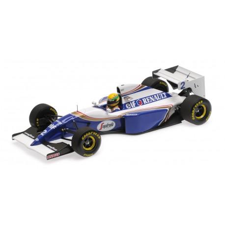 Williams Renault FW16 2 F1 Pacifique 1994 Ayrton Senna Minichamps 540941822