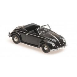 Volkswagen Hebmuller Cabriolet 1950 Black Minichamps 940052130