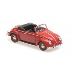 Volkswagen Hebmuller Cabriolet 1950 Red Minichamps 940052131