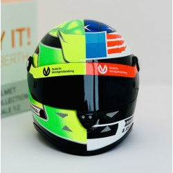 Casque 1/2 Mick Schumacher Demonstration Run Spa F1 2017 Schuberth 9087001225