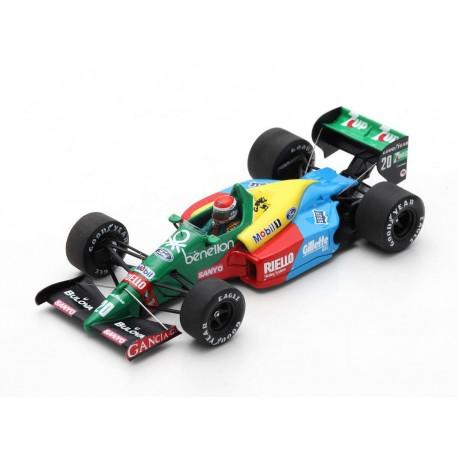 Benetton B188 20 F1 France 1989 Emmanuele Pirro Spark S5206