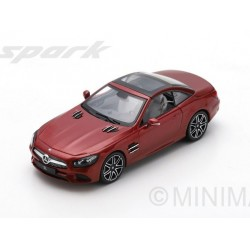 Mercedes Benz SL Designo Cardinal Red 2017 Spark S8183