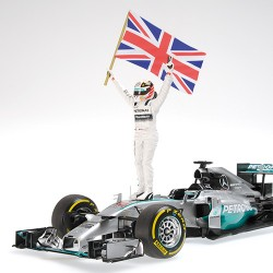 Mercedes F1 W05 F1 Abu Dhabi 2014 Lewis Hamilton Minichamps 110140644