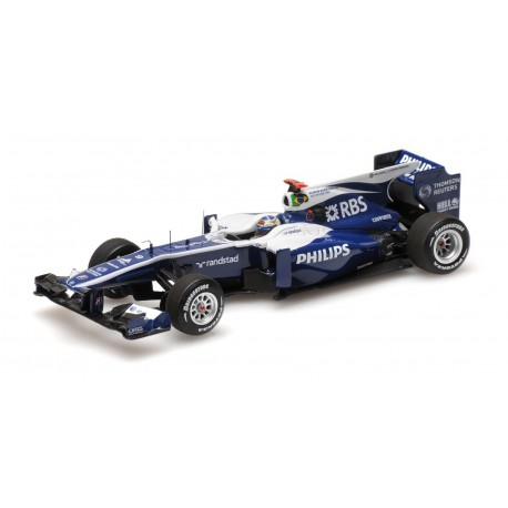 Williams Cosworth FW32 F1 Brésil 2010 Rubens Barrichello Minichamps 417103009