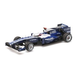 Williams Cosworth FW32 F1 2010 Rubens Barrichello Minichamps 417100009