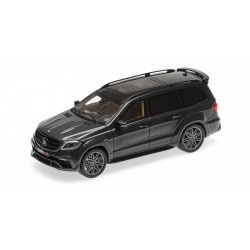 Brabus 850 Widestar XL based on Mercedes AMG GLS 63 2017 Black Metallic Minichamps 437037360