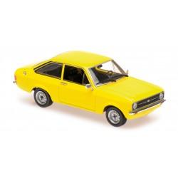 Ford Escort 1975 Yellow Maxichamps 940084100