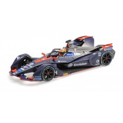 Envision Virgin Racing 4 Formula E Season 5 2019 Robin Frijns Minichamps 414180004