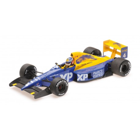 Tyrrell Ford 018 F1 4ème GP Debut France 1989 Jean Alesi Minichamps 110890004