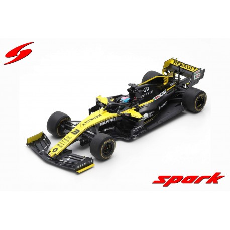 Renault RS19 F1 2019 Daniel Ricciardo Spark 18S454