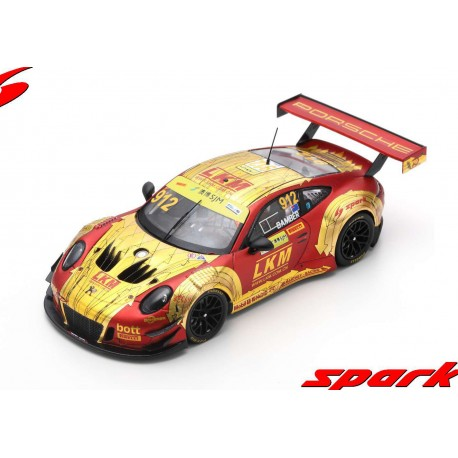 Porsche 911 GT3 912 FIA GT World Cup Macau 2018 Earl Bamber Spark SA164
