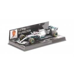 Mercedes F1 W10 EQ Power+ F1 2019 Lewis Hamilton Minichamps 410190044
