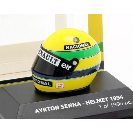 Casque 1/8 Ayrton Senna F1 Pole Position San Marino 1994 Minichamps 543389402