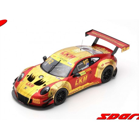 Porsche 911 GT3 R 912 FIA GT World Cup Macau 2018 Earl Bamber Spark 18SA020
