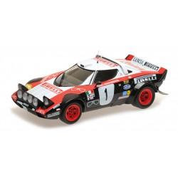 Lancia Stratos 1 Winner Rallye Dynavit Saarland 1978 Rohrl Geistdoerfer Minichamps 155781701