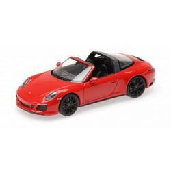 Porsche 911 Type 991/2 Targa 4 GTS 2017 Red Minichamps 410067340