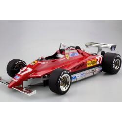 Ferrari 126 C2 27 F1 1980 Gilles Villeneuve GP Replicas GP1210A