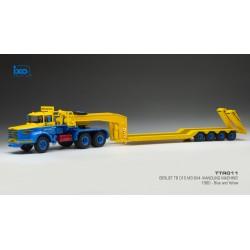 Berliet TB015 1960 Blue IXO TTR011