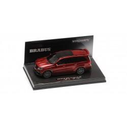 Brabus 850 Widestar XL based on Mercedes AMG GLS 63 2017 Red Metallic Minichamps 437037362