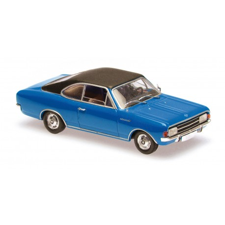 Opel Rekord C Coupe 1966 Blue Maxichamps 940046121