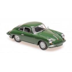 Porsche 356 Carrera 2 1963 Dark Green Maxichamps 940062360
