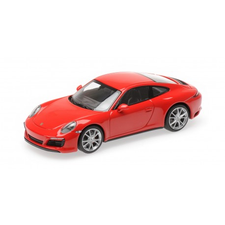 Porsche 911 Type 991/2 Carrera 4 S 2017 Red Minichamps 410067240