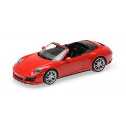 Porsche 911 Type 991/2 Carrera 4 S 2017 Red Minichamps 410067230