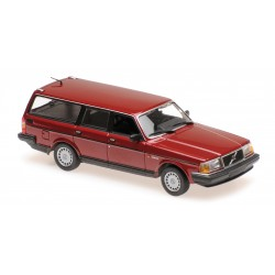Volvo 240 GL Break 1986 Red Metallic Maxichamps 940171415