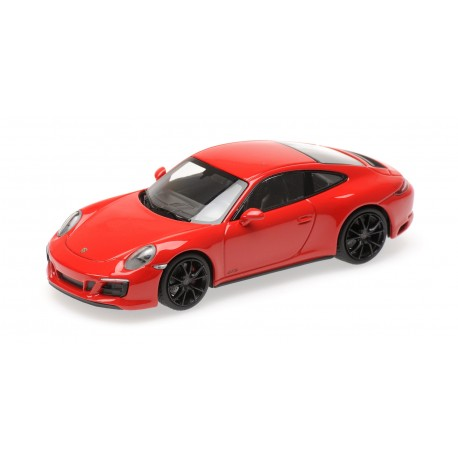 Porsche 911 Type 991/2 Carrera 4 GTS 2017 Red Minichamps 410067320