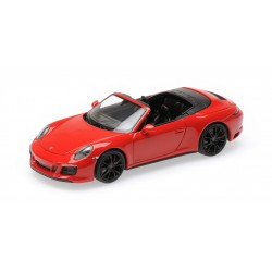 Porsche 911 Type 991/2 Carrera 4 GTS Cabriolet 2017 Red Minichamps 410067330