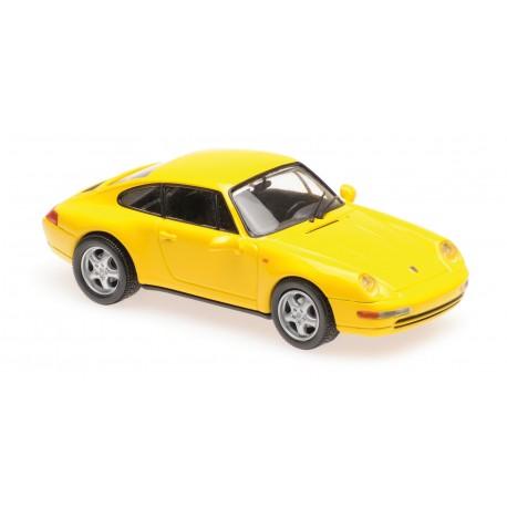 Porsche 911 Type 993 1993 Jaune Maxichamps 940063000