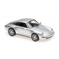 Porsche 911 Type 993 1993 Silver Maxichamps 940063001