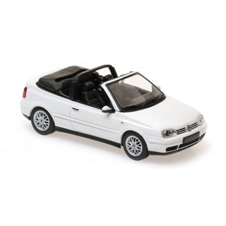 Volkswagen Golf 4 Cabriolet 1998 White Maxichamps 940058330