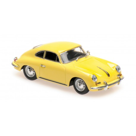 Porsche 356 B Coupe 1961 Yellow Maxichamps 940064300