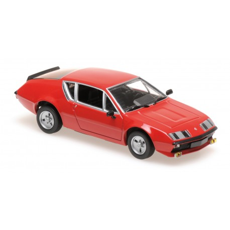 Renault Alpine A310 1976 Red Maxichamps 940113590