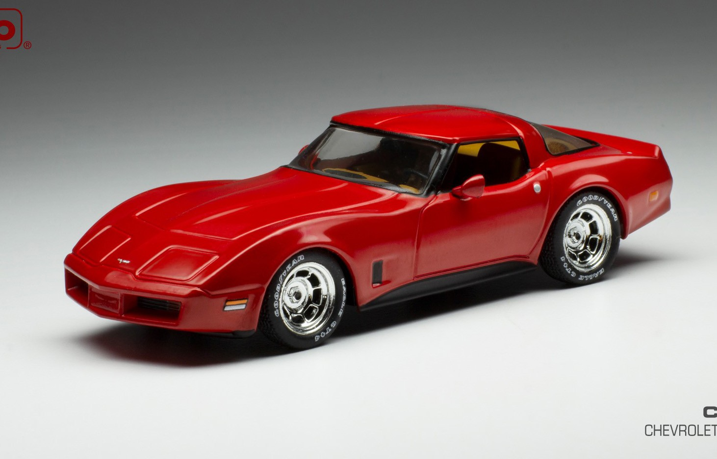 1:43 Ixo Chevrolet Corvette C3 1980 red