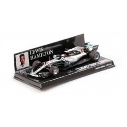 Mercedes F1 W09 EQ Power+ F1 World Champion Mexique 2018 Lewis Hamilton Minichamps 417181944