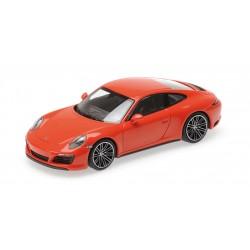 Porsche 911 Type 991/2 Carrera 4 S 2017 Orange Minichamps 410067241