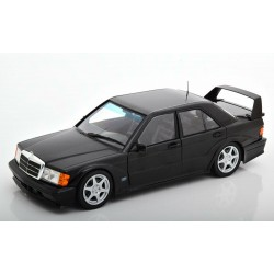Mercedes Benz 190E Evo 2 1990 Black Solido S1801001