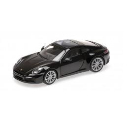Porsche 911 992 Carrera 4S 2019 Black Metallic Minichamps 410069320