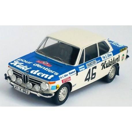 BMW 2002 Ti 46 Rallye Monte Carlo 1973 Hainbach Biebinger Trofeu TRORRFR07