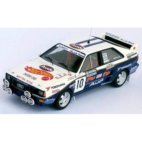 Audi Quattro 10 National Breakdown Rally 1987 Bosch Hodgson Trofeu TRORRUK18