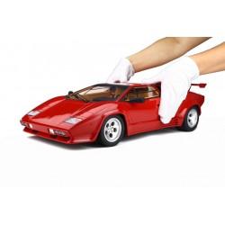 Lamborghini Countach LS500 QV Rosso Siviglia Avec showcase GT Spirit GTS80031