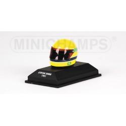 Casque Ayrton Senna 1981 1/8 Minichamps 540381115